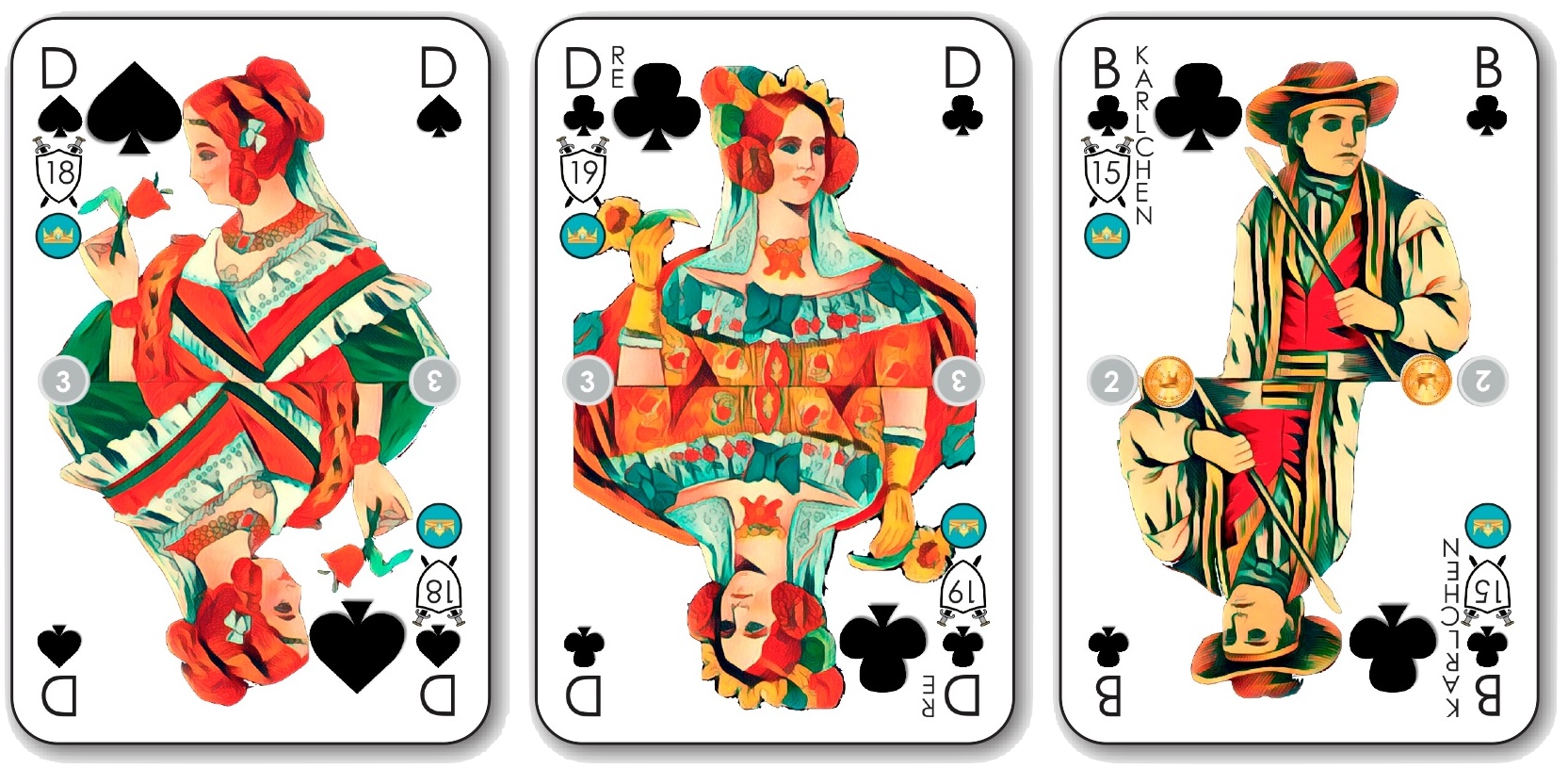 Doppelkopf Kartenspiel – Der Spieleklassiker neu gedacht